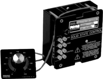 120VAC 15 amp solid state variac by Payne - 18TB-1-15