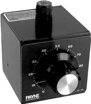 240VAC 10 amp solid state variac by Payne - 18TBP-2-10