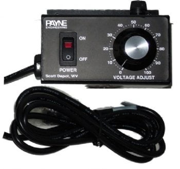 120VAC 10 amp solid state variac by Payne - 18TP-1-10