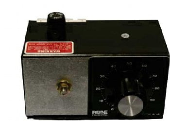 240VAC to VDC 10 amp solid state variac by Payne - 36TBP-2-10