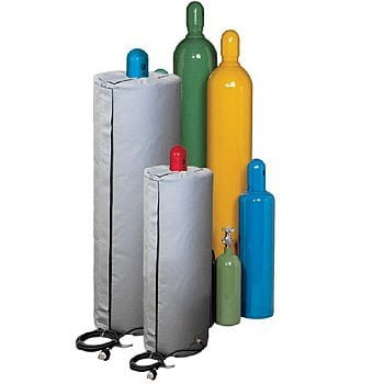 Gas cylinder heater by Briskheat - HCW8481501