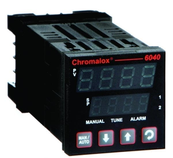 6040 1/16 DIN control by Chromalox