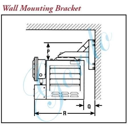 CXH-A-WMB-12 Wall Mount Kit