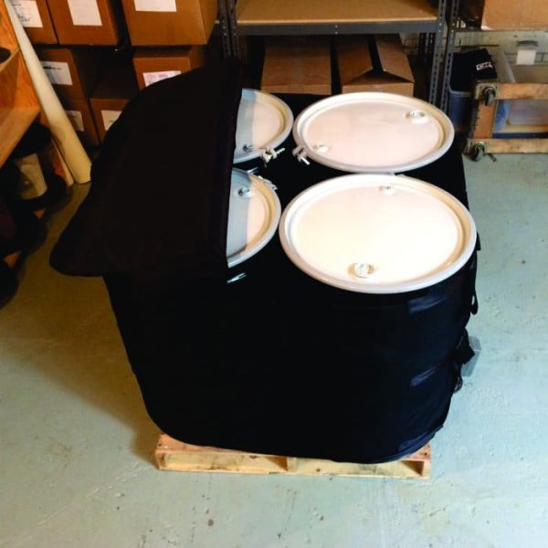 Four 55 Gallon Drum Heater Oven With Lid – DHO-120V