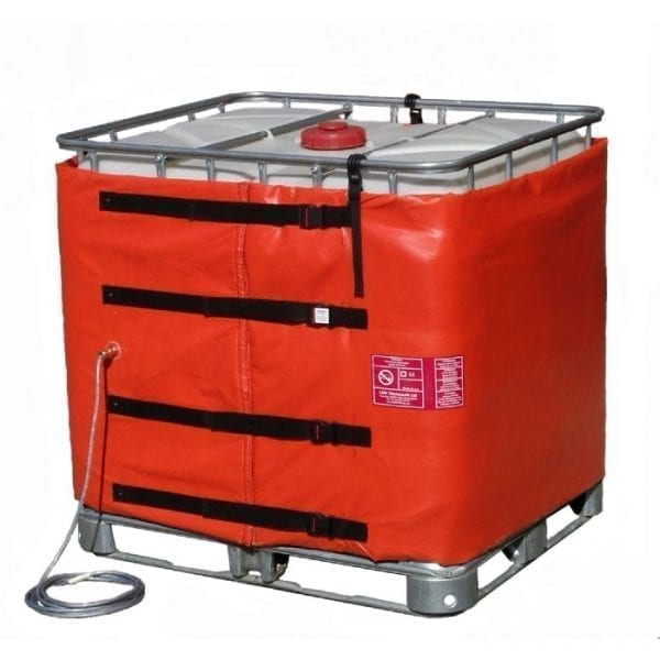120V/240V InteliHeat 275 gallon hazardous area rated tote heater by Thermosafe - Inteliheat IBC-Z1