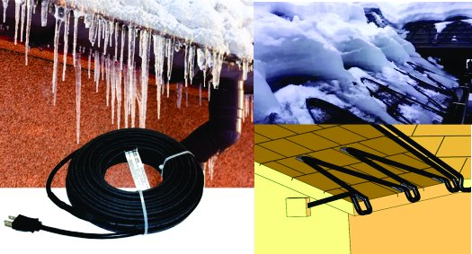 roof and gutter heating cables
