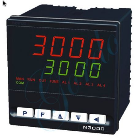 1/4 DIN PID temperature controller by Novus - N3000