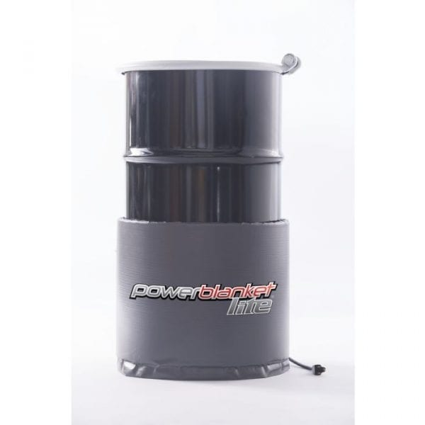15 gallon drum heater with 125F fixed thermostat by Powerblanket - PBL15