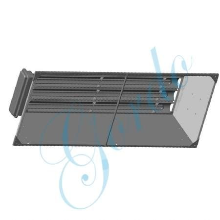 240V 3PH 13.5KW Fixed Overhead Radiant Heater by Chromalox - STAR-14A-23-F
