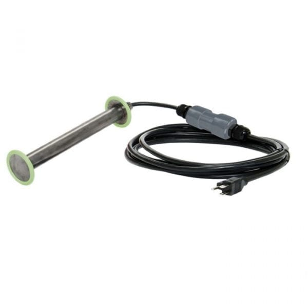 120V 1.8KW submersible PTC immersion tote heater with snap action thermostat by IHC - SUBTWS1.8-XX-1