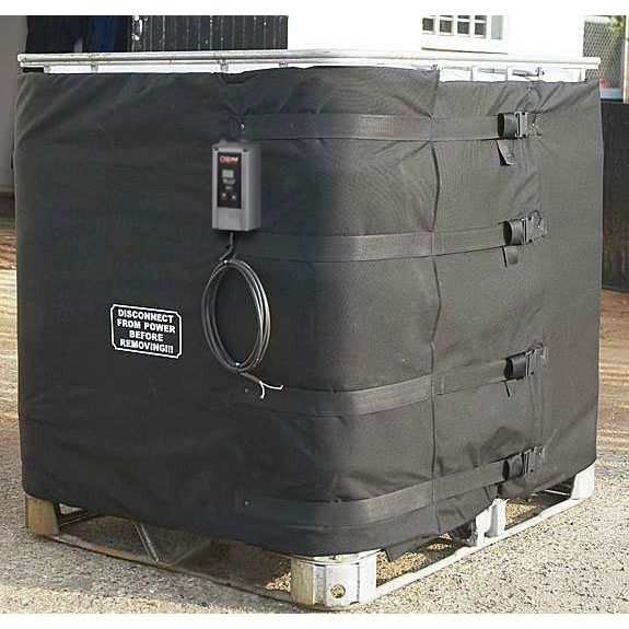 120V 1800W 275 gallon IBC tote heater with digital controller by Gordo - TOTE461-CHR