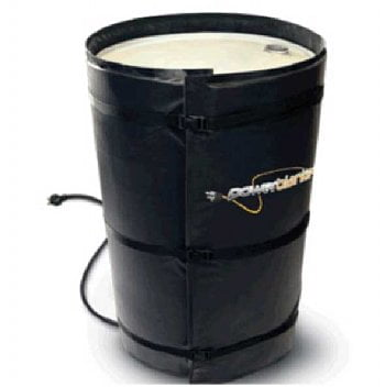 55 gallon drum heater with fixed thermostat by Powerblanket - BH55-RR