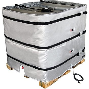 """120V or 240V 48"""" high tote heater with 50-160F adjustable thermostat by Briskheat - TOTE481-ADJ"""