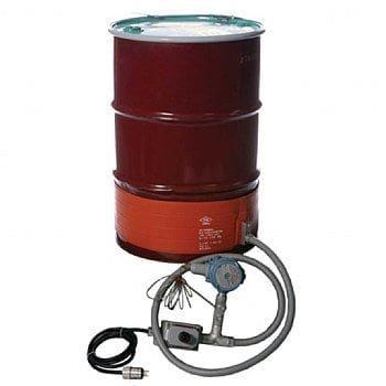 30 gallon hazardous area rated drum heater by Briskheat - DHCX131000T3