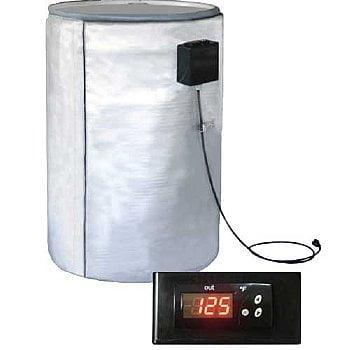 55 Gal. Plastic Drum Heater With Digital Controller By Briskheat – FGPDHC55120D