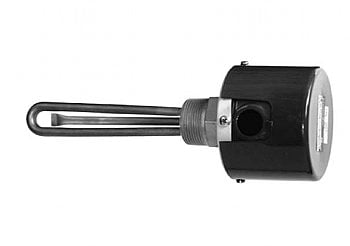 "240V 2000W 1 1/4"" NPT SS fitting 2 SS elements 6 1/8"" immersion length by Gordo - GJ-2-0038-M1"
