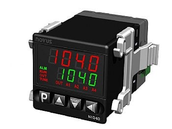 1/16 DIN PID temperature controller, by Novus- N1040