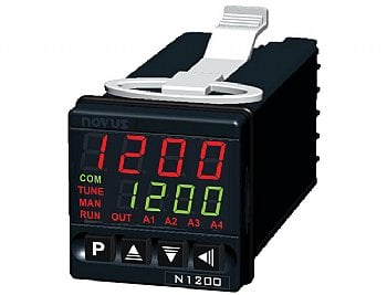 1/16 DIN PID temperature controller, by Novus- N1200