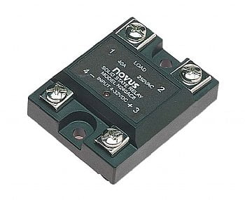 60 amp @ 480VAC (max) solid state relay, 4-32VDC input by Novus - SSR-4860