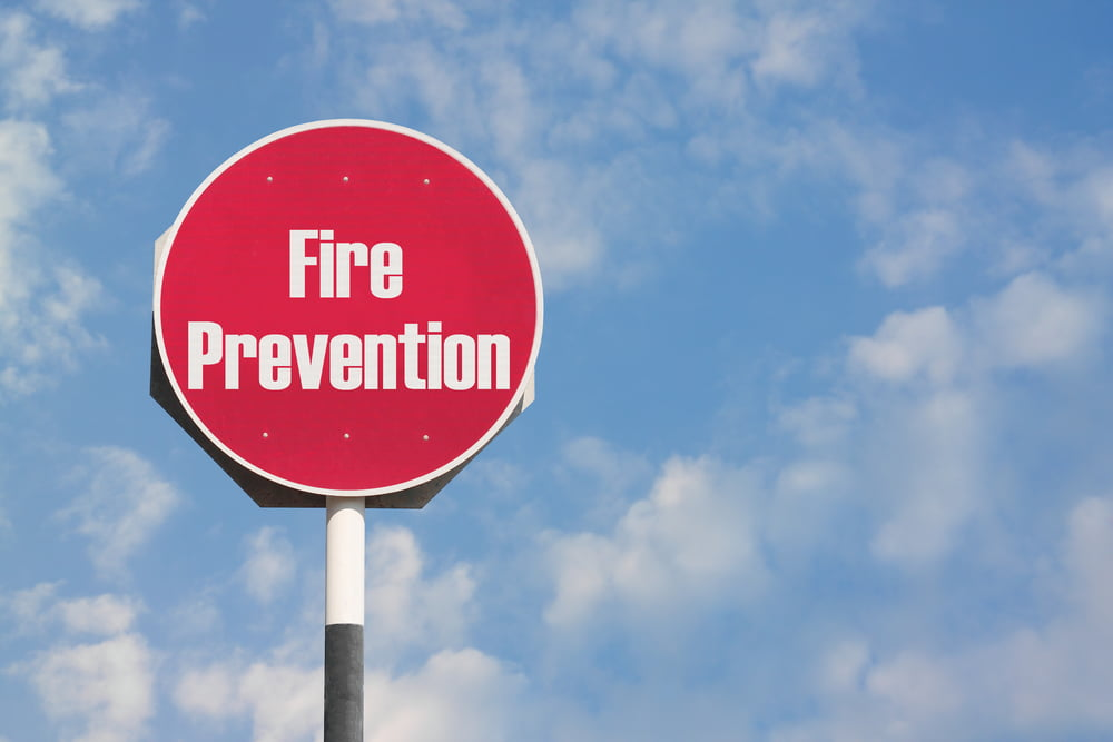 gas heater fire prevention